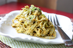 Bönpasta Recept - Gröna Sojabönor pasta
