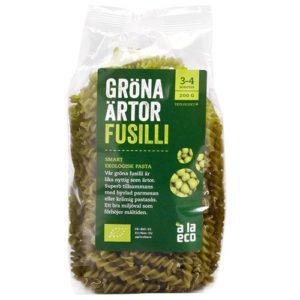 Ärtpasta - A la eco - Gröna Ärtor Fusilli
